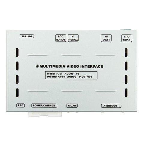 Автомобильный видеоинтерфейс для Audi MMI 3G с поддержкой внешнего сенсорного стекла Превью 1