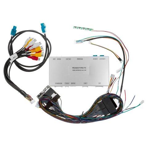 Відеоінтерфейс для Citroën, Peugeot з мультимедійною системою SMEG/SMEG+ Прев'ю 4