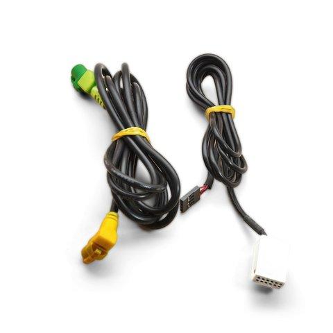 Штатный AUX и USB-кабель для Volkswagen с системой RNS510 / RCD510 Превью 1