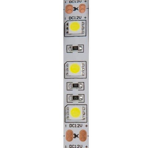 Світлодіодна стрічка SMD5050 (природний білий, 300 світлодіодів, 12 В DC, 5 м, 4500 К) Прев'ю 1