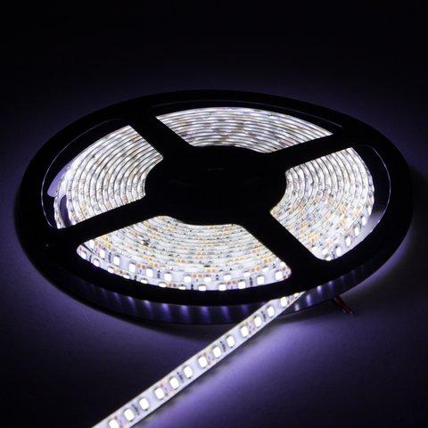 Світлодіодна стрічка SMD2835 (над'яскрава, монохромна, холодний білий, 120 світлодіодів/м, 1 м, IP65) Прев'ю 1