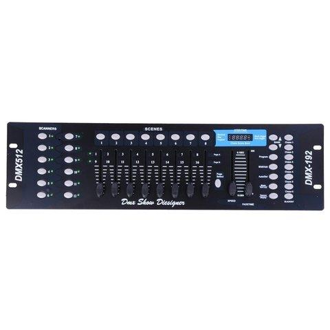Світловий DMX512-контролер, 192-канальний Прев'ю 1