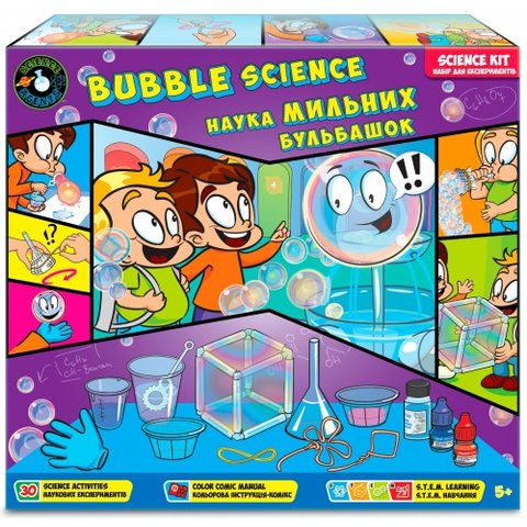 Набір Science Agents Наука мильних бульбашок