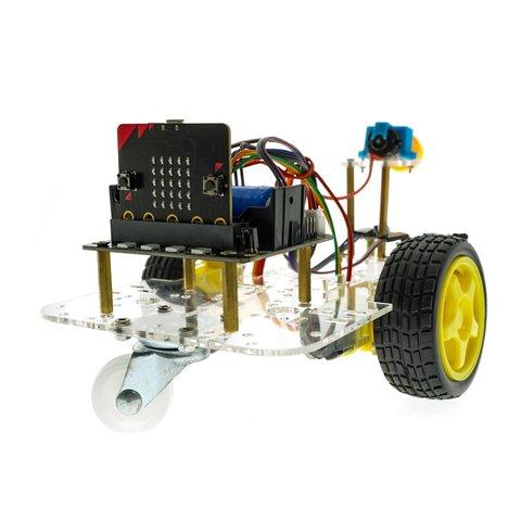 Конструктор на базі micro:bit Розумний робот-пожежник + посібник користувача Прев'ю 2