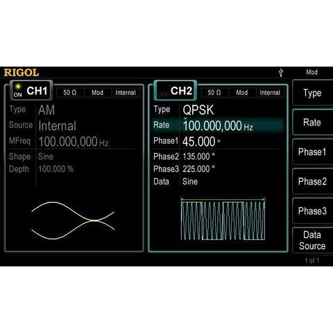 Arbitrary Waveform / Function Generator RIGOL DG4062 Preview 7