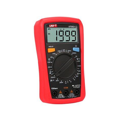 Pocket Digital Multimeter UNI-T UT33C+ Preview 1